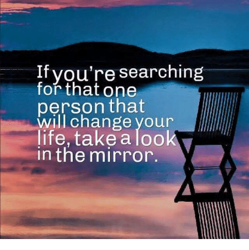 looking for a change in life