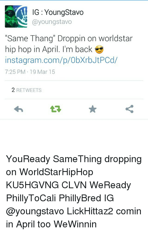 IG Young Stavo Youngstavo Same Thang Droppin on Worldstar