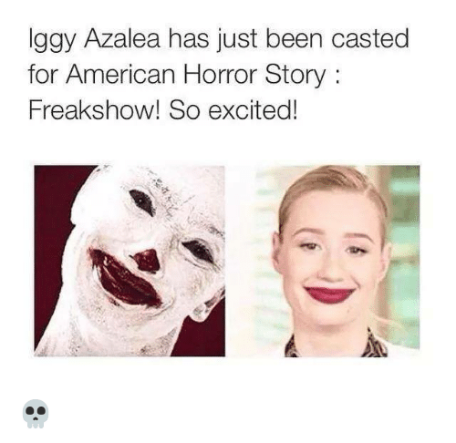 Iggy Azalea Has Just Been Casted For American Horror Story Freak
