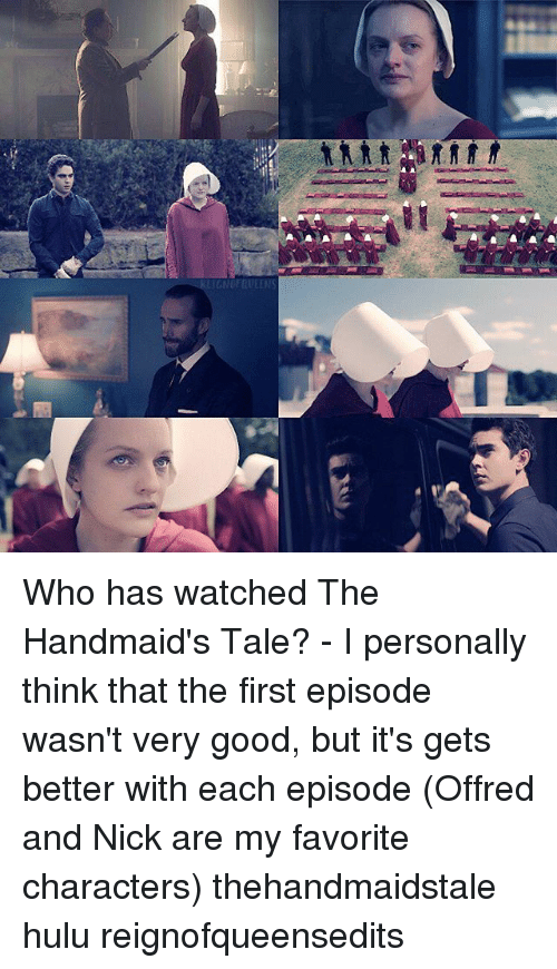 the handmaids tale offred and nick relationship