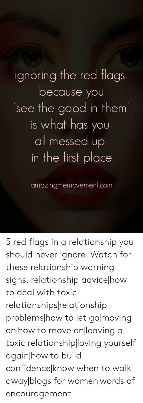 Signs of relationship problems