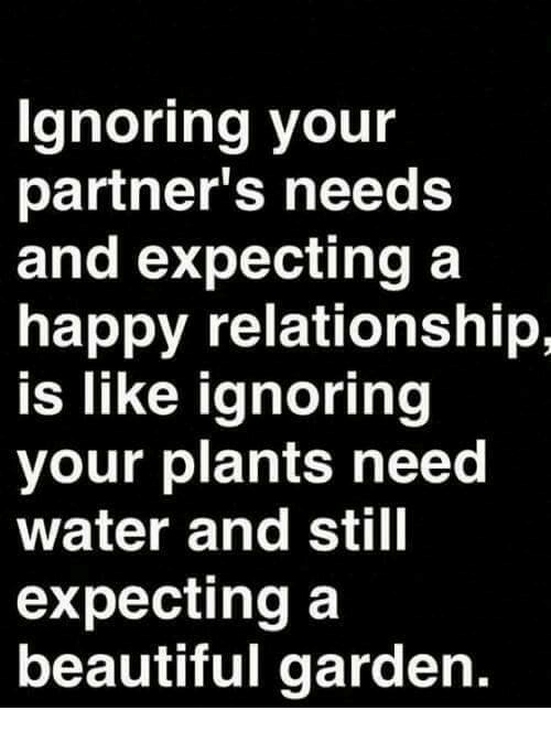 Needs in a relationship