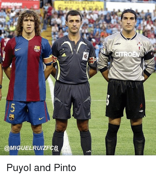 ¿Cuánto mide Carles Puyol? - Altura - Real height Iguelrui-citroen-puyol-and-pinto-21232529