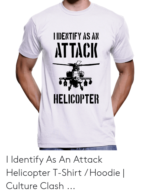 IIDENTIFY AS AN ATTACK HELICOPTER I Identify as an Attack