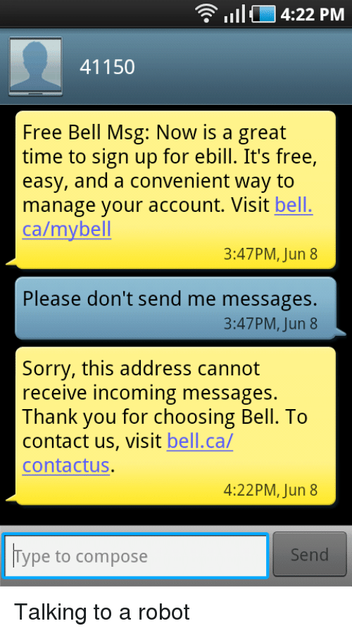 IIII 422 PM 41150 Free Bell Msg Now Is a Great Time to Sign