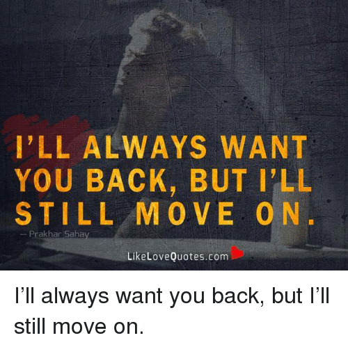 You still move me