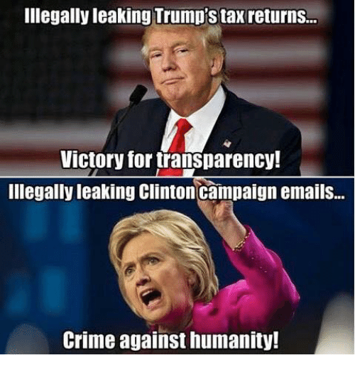 illegally leaking trumps tax returns victory for transparency illegally leaking 5363370 ✅ 25 best memes about trump taxes trump taxes memes