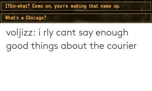 Chicago, Target, and Tumblr: Illin-what? Come on, you're making that name up.   What's a Chicago? voljizz: i rly cant say enough good things about the courier