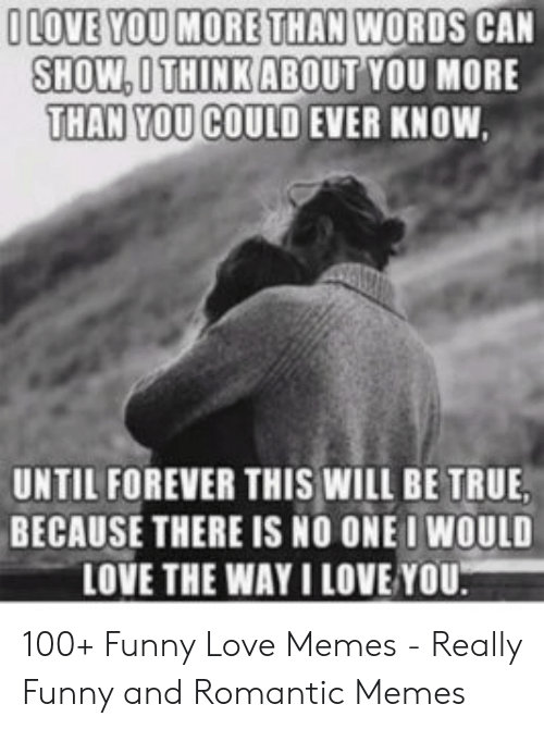 30 I Love You Memes For Him Love Messages