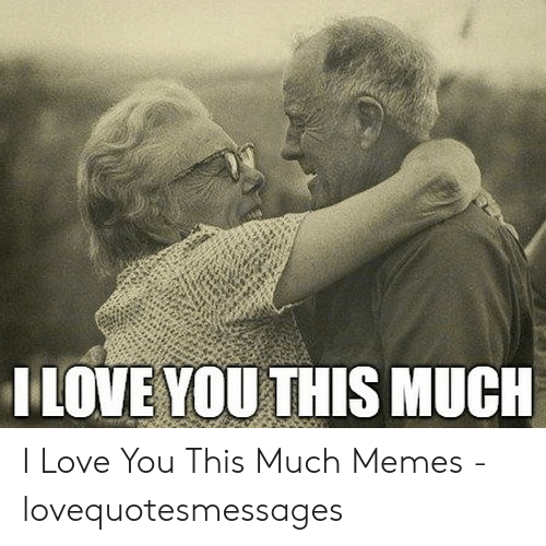 Love, Memes, and I Love You: ILOVE YOU THIS MUCH I Love You This Much Memes - lovequotesmessages
