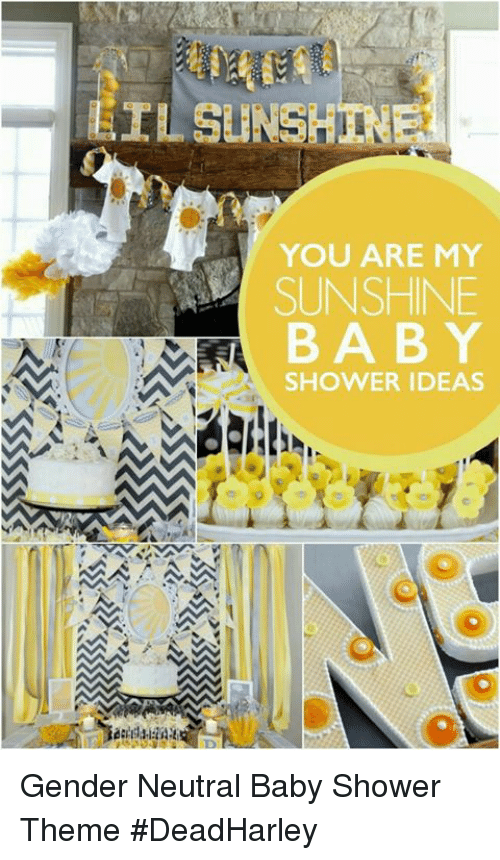 Ilsunshin You Are My Sunshine Baby Shower Ideas Gender Neutral Baby