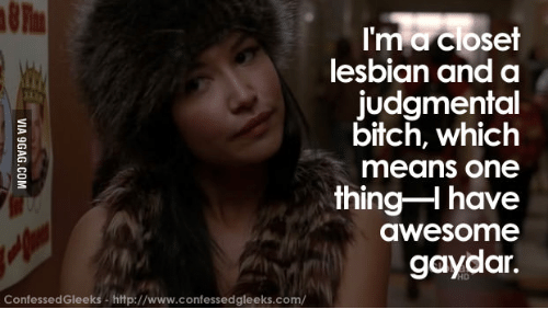 Gaydar Closet And Bitches Im A Lesbian Judgmental Bitch Which Means One Thing H Have We Some
