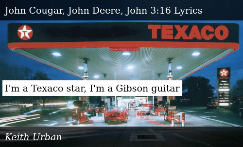 I'm a Texaco Star I'm a Gibson Guitar | Donald Trump Meme on