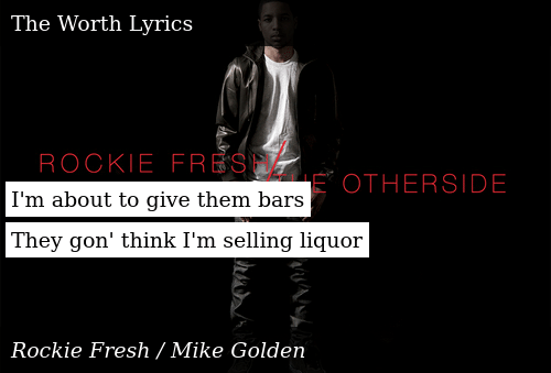 SIZZLE: I'm about to give them bars They gon' think I'm selling liquor