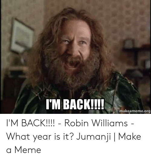 🔥 25+ Best Memes About What Year Is It Jumanji | What Year ...