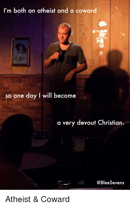 Devout christian dating atheist