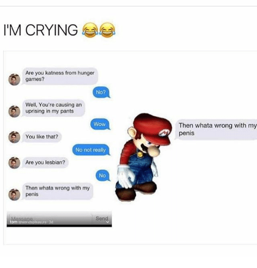 Crying Penis