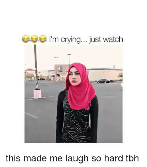 Crying, Memes, and Tbh: im crying... just watch this made me laugh so hard tbh