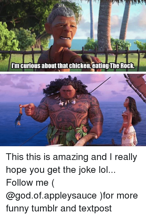 Im Curious About That Chicken Eating The Rock This This Is Amazing