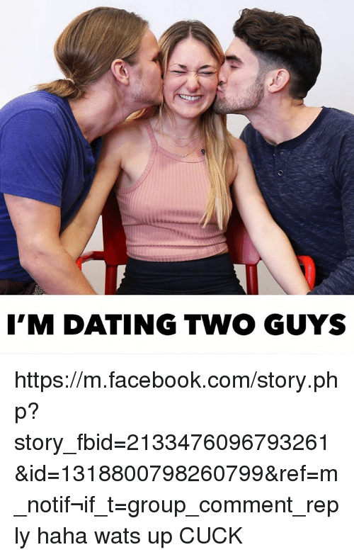 Dating two guys friends