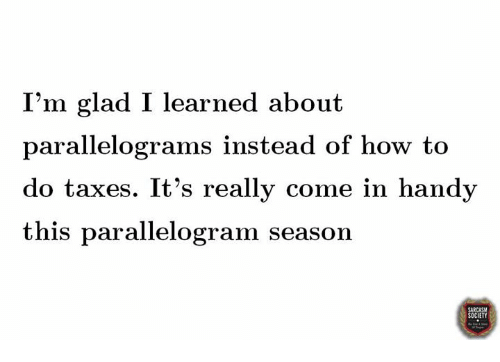Parallelogram Season