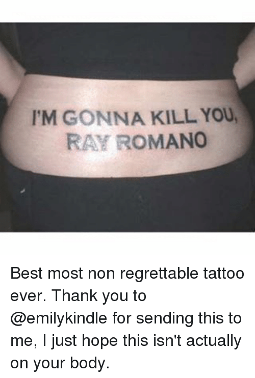 Regrettable Tattoo