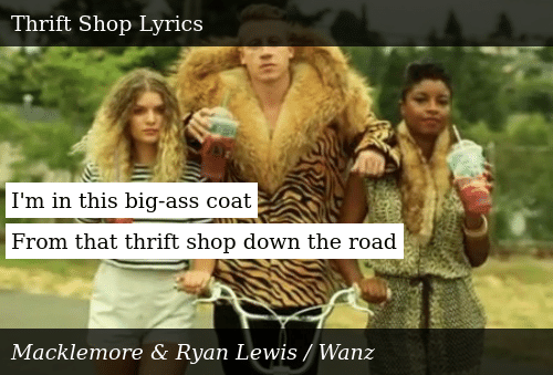I\'m in This Big-Ass Coat From That Thrift Shop Down the Road ...