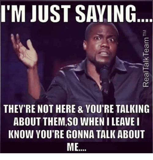 you re talking to me
