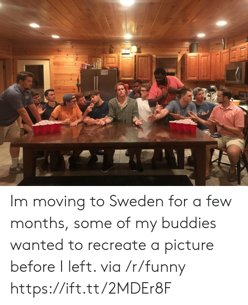 Funny, Sweden, and A Picture: Im moving to Sweden for a few months, some of my buddies wanted to recreate a picture before I left. via /r/funny https://ift.tt/2MDEr8F