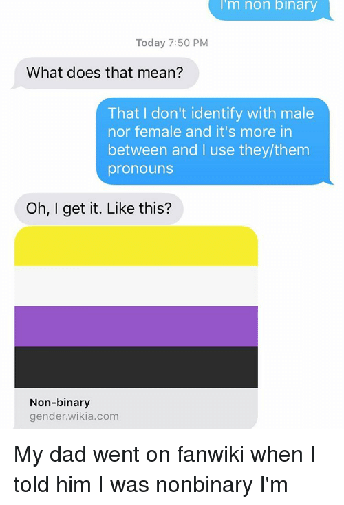 What is non binary mean