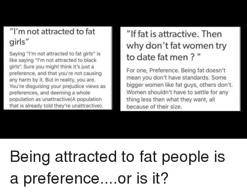 dating a man youre not attracted to