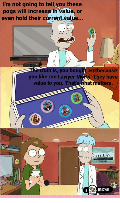 I'm Not Going to Tell You These Pogs Will Increase in Value
