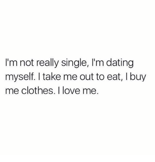 single but not dating