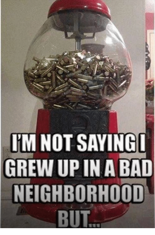Growing Up In Bad Neighborhood Does >> I M Not Saying I Grew Up In A Bad Neighborhood But Bad Meme On Me Me