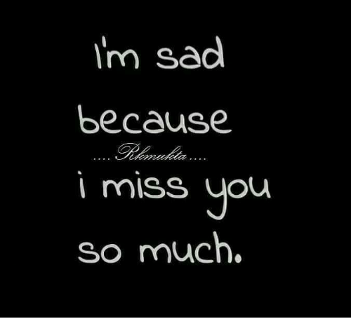 Im Sad Because Miss You So Much Meme On Meme