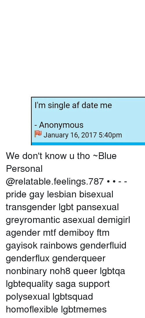 Dating a genderqueer personal