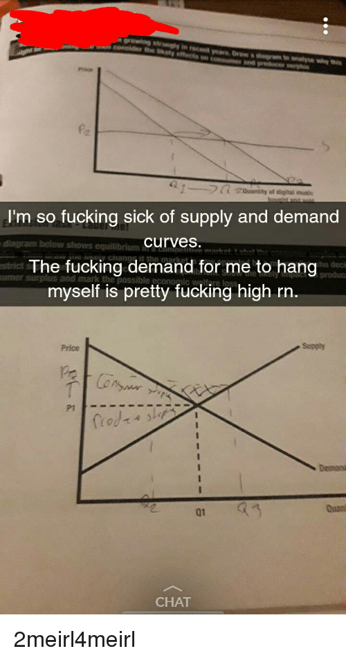 Im So Fucking Sick Of Supply And Demand Curves The Fucking Demand