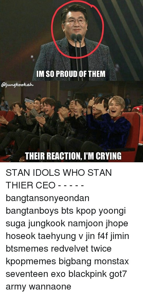 IM SO PROUD OF THEM Jungkookah THEIR REACTION I'M CRYING