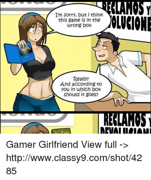 Gamers with girlfriends