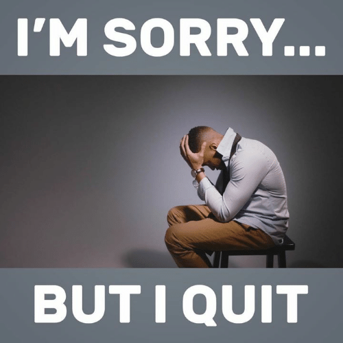 Memes, Sorry, and 🤖: I'M SORRY.  BUTIQUIT