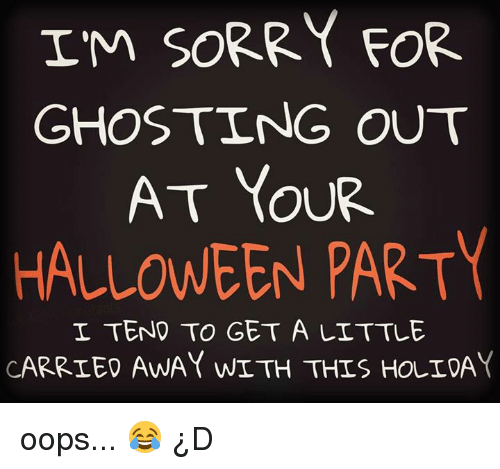 Hookup Someone Game Ghosting Halloween Curve Meme