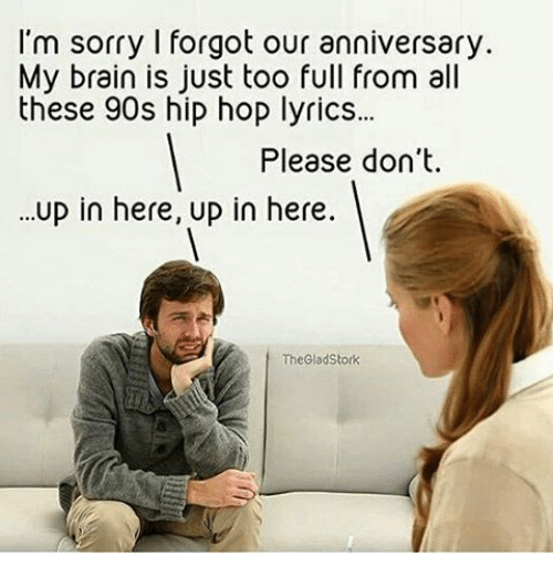 forgot our anniversary