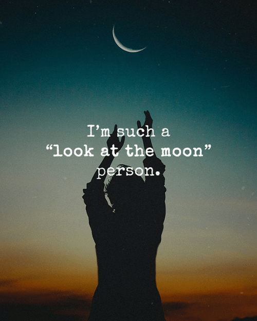 """Memes, Moon, and 🤖: I'm such a  """"look at the moon""""  person."""
