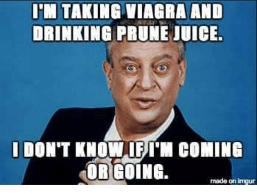 Drinking after viagra
