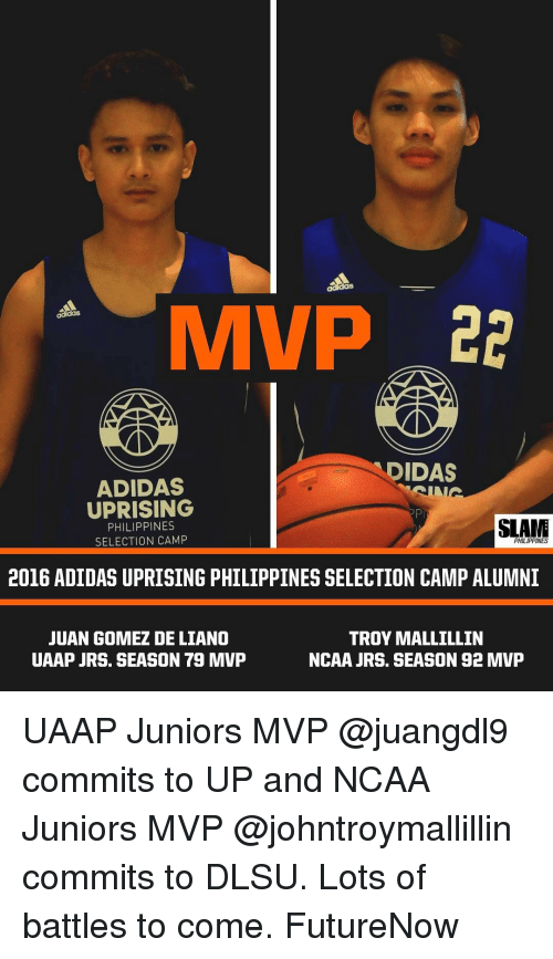 IM VP DIDAS ADIDAS UPRISING SLANE PHILIPPINES SELECTION CAMP ... b5a4e5b1f8f0