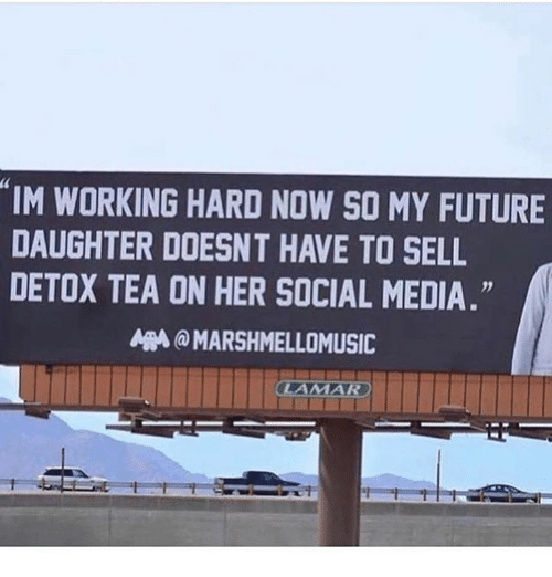 """Future, Social Media, and Media: """"IM WORKING HARD NOW SO MY FUTURE  DAUGHTER DOESNT HAVE TO SELL  DETOX TEA ON HER SOCIAL MEDIA  5  灬@ MARSHMELLOMUSIC"""