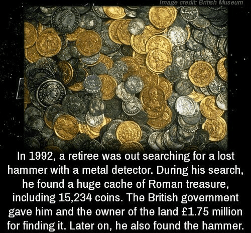Image Credit British Museum in 1992 a Retiree Was Out
