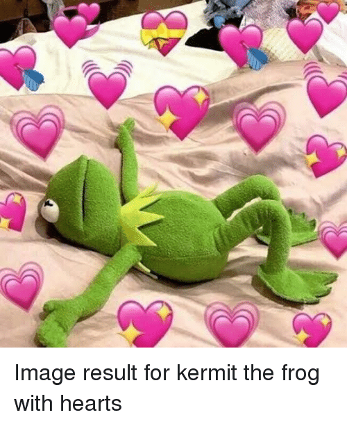 Kermit The Frog Hearts And Image Result For With