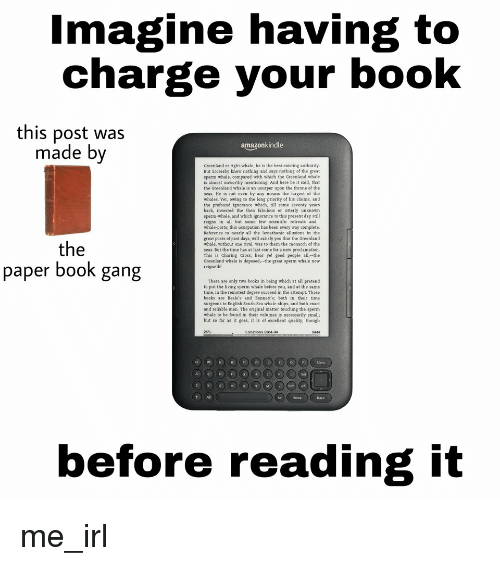 Imagine Having to Charge Your Book This Post Was Made Bv