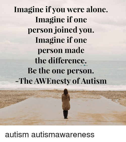 one person who made a difference